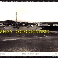 Postales: A CORUÑA. ESTADIO MUNICIPAL. RIAZOR. TARJETA. POSTAL. FOTOGRAFICA. FUTBOL. ED. ARRIBAS. GALICIA.. Lote 214763170