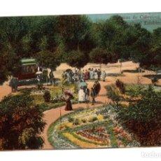 Postales: TARJETA POSTAL AGUAS DE CABREIROA. ENTRADA AL ESTABLECIMIENTO. Nº 44. C. 1915. Lote 214890025