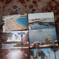 Postales: 6 ANTIGUAS POSTALES DE, LA CORUÑA, DÉCADA DE 1960. Lote 214909197
