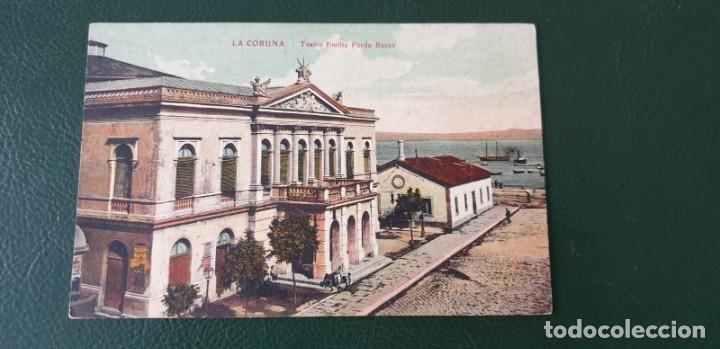 A CORUÑA - TEATRO EMILIA PARDO BAZÁN (Postales - España - Galicia Antigua (hasta 1939))