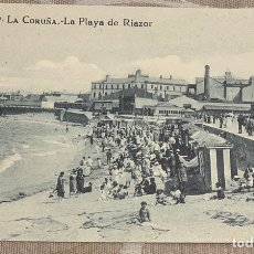 Postales: PLAYA DE RIAZOR. Lote 215646273