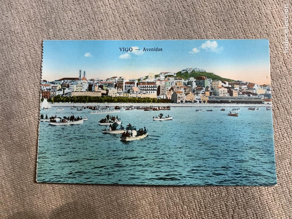 VIGO-AVENIDAS (Postales - España - Galicia Antigua (hasta 1939))