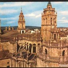 Postales: POSTAL CIRCULADA CATEDRAL - LUGO - EDICIONES PARIS Nº 474. Lote 216399985
