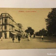 Postales: FERROL. CANTÓN DE MOLINS. (ED. COUCE). Lote 217528865