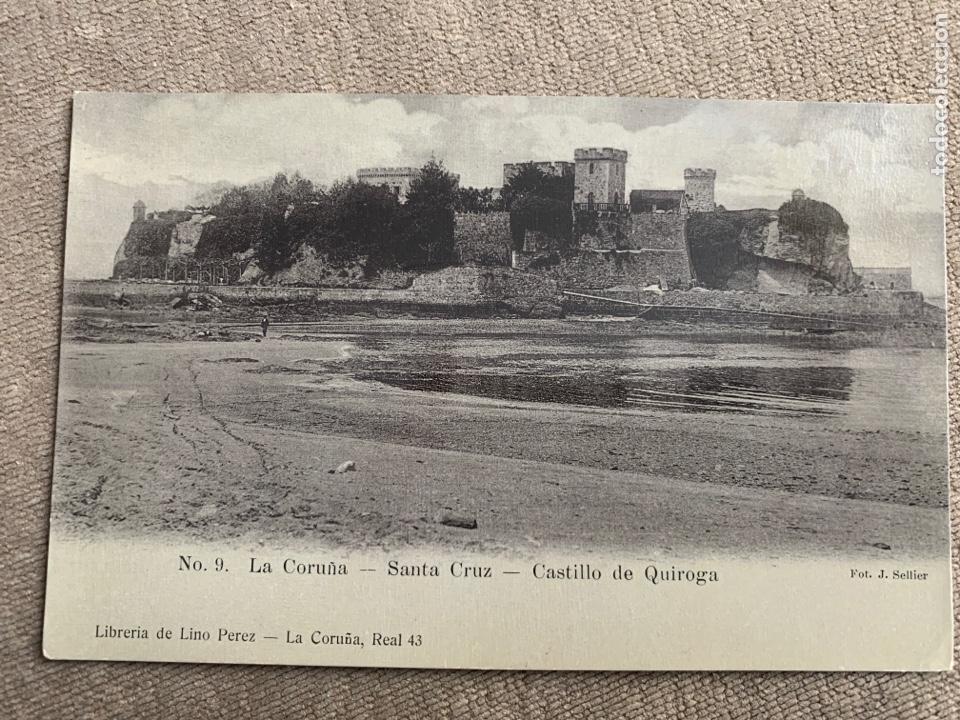 SANTA CRUZ CASTILLO DE QUIROGA.LA CORUÑA (Postales - España - Galicia Antigua (hasta 1939))