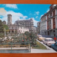 Postales: LUGO SERIE 111 Nº 3 PLAZA DE ESPAÑA ZERKOWITZ COCHES RENAULT 8 CITROEN SEAT. Lote 218296508