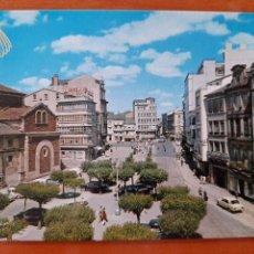 Postales: LUGO SERIE 111 Nº 1 PLAZA SANTO DOMINGO ZERKOWITZ COCHES. Lote 218297037