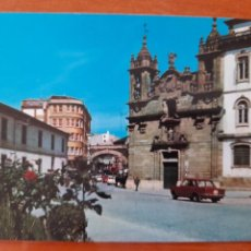 Postales: LUGO 3363 PLAZA DE EL FERROL COCHES SEAT ED PERLA. Lote 218297423
