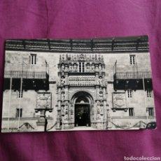 Postales: SANTIAGO DE COMPOSTELA HOSTAL DE LOS REYES CATÓLICOS 1960. Lote 218307276