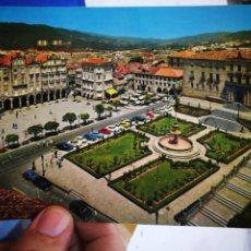 Postales: POSTAL PONTEVEDRA PLAZA DE LA HERRERÍA N 3545 FAMA S/C. Lote 218316731