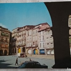 Postales: ANTIGUA POSTAL OURENSE PLAZA MAYOR. Lote 218425063