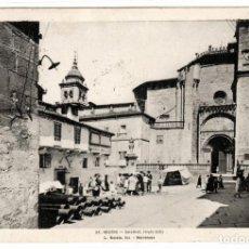 Postales: PRECIOSA POSTAL - ORENSE - CATEDRAL - SIGLO XIII. Lote 219410503