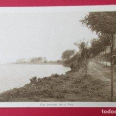 Postais: LA TOJA, PONTEVEDRA. UNA ENSENADA DE LA ISLA. CLICHÉ J. PINTOS. LIBRERÍA O´RECUNCHO.. Lote 219961640