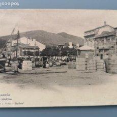 Postales: POSTAL VILLAGARCIA Nº 1596 LA MARINA PUERTO MUELLE ED HAUSER Y MENET PONTEVEDRA VIGO PERFECTA CONSER. Lote 220079646