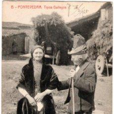 Postales: PRECIOSA POSTAL - PONTEVEDRA - TIPOS GALLEGOS. Lote 220244645