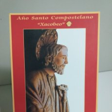 """Postales: POSTAL SANTIAGO DE COMPOSTELA. AÑO SANTO COMPOSTELANO """"XACOBEO"""". Lote 220587171"""