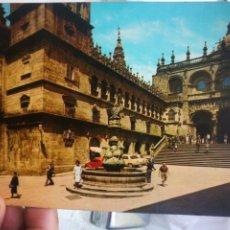 Postales: POSTAL SANTIAGO DE COMPOSTELA PLAZA DE LAS PLATERÍAS N 7 ALARDE 1981 ESCRITA. Lote 220596185