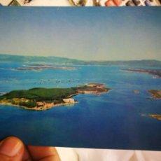 Postales: POSTAL LA TOJA ISLA DE ENSUEÑO PONTEVEDRA FOAT 1963 ESCRITA. Lote 220781941