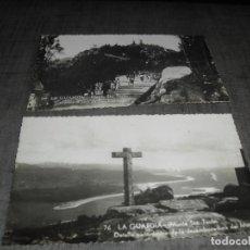 Postales: DOS POSTALES GALICIA LA GUARDIA. Lote 220964223