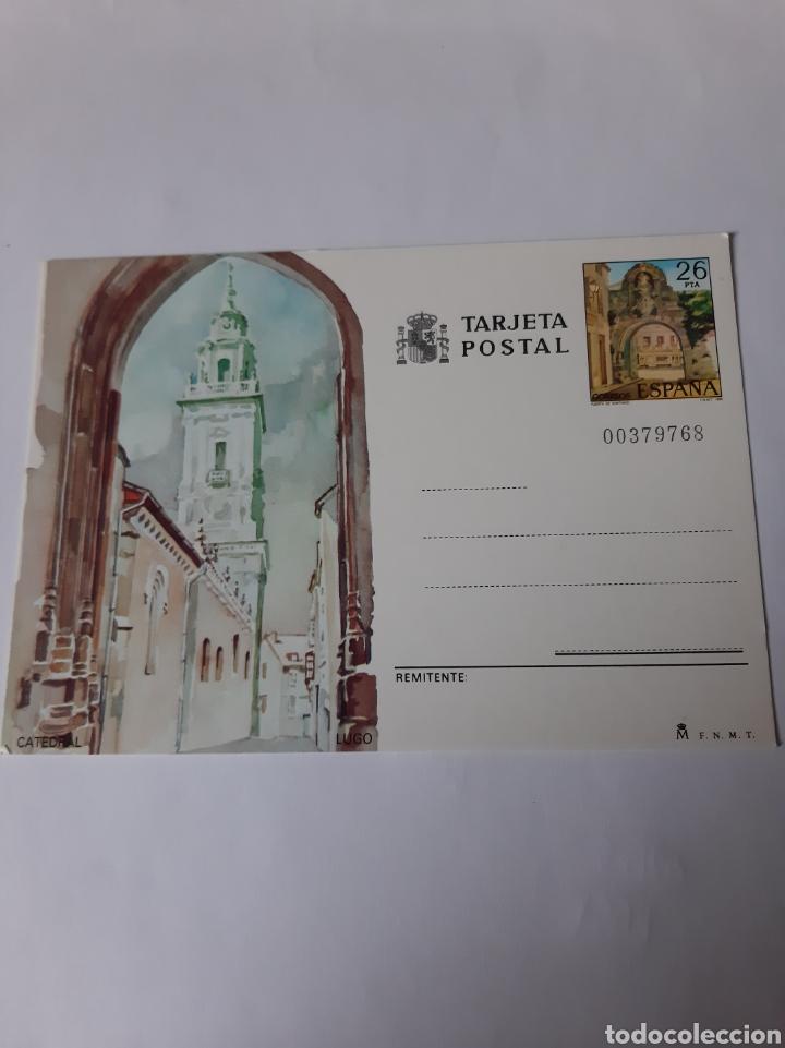 LUGO CATEDRAL ENTEROS POSTALES EDIFIL 134 1983 LIBRERÍA COLISEVM (Postales - España - Galicia Moderna (desde 1940))