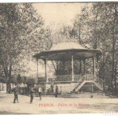 Postales: POSTAL - FERROL. PALCO DE LA MÚSICA. EDICIÓN COUCE. SIN CIRCULAR.. Lote 221306543