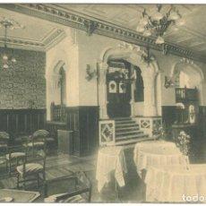 Postales: POSTAL - LUGO - HOTEL MENDEZ NUÑEZ - SALÓN DE TÉ Y FUMOIR.. Lote 221307978