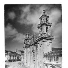 Postales: MONDOÑEDO -LUGO -ANTIGUA POSTAL DE LA CATEDRAL DE MONDOÑEDO HISTORIA AL DORS. Lote 221960738