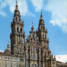 Postales: VESIV POSTAL SANTIAGO DE COMPOSTELA Nº2055 CATEDRAL FACHADA DEL OBRADOIRO. Lote 221983662