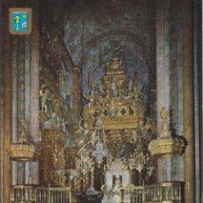 Cartes Postales: SANTIAGO DE COMPOSTELA, LA CATEDRAL,ALTA MAYOR - ESCUDO DE ORO Nº37 - EDITADA 1964 - S/C. Lote 222115783