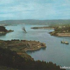 Postales: EL FERROL DEL CAUDILLO, ENTRE CASTILLOS - EDICIONES ARRIBAS Nº2016 - EDITADA EN 1964 - S/C. Lote 222131648