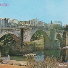 Postales: ORENSE (GALICIA), PUENTE ROMANO SOBRE EL RIO MIÑO - EDICIONES PARIS Nº329 - EDITADA EN 1967 - S/C. Lote 222133218