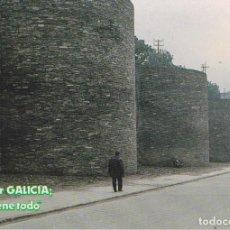 Postales: LUGO, MURALLAS ROMANAS - XUNTA DE GALICIA - S/C. Lote 222135321
