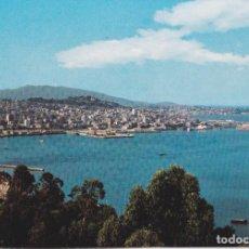 Postales: VIGO, PANORÁMICA DESDE LA GUIA - ESCUDO DE ORO Nº9 - EDITADA EN 1963 - S/C. Lote 222135661