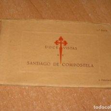 Cartes Postales: DOCE VISTAS DE SANTIAGO DE COMPOSTELA. Lote 222195681