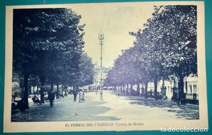 POSTAL DE EL FERROL DEL CAUDILLO CANTÓN DE MOLINS SIN CIRCULAR (Postales - España - Galicia Moderna (desde 1940))