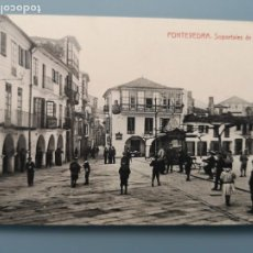 Postales: POSTAL PONTEVEDRA SOPORTALES DE LA HERRERIA EDIC FOT THOMAS GALICIA VIGO PERFECTA CONSERVACION. Lote 222318955