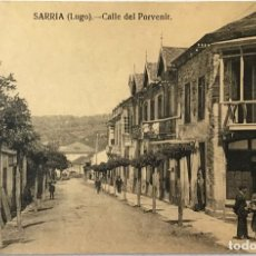 Cartoline: SARRIA (LUGO). CALLE DEL PORVENIR. (FOTO. J. RAMÍREZ).. Lote 222530018