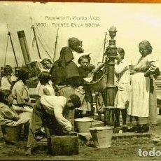 Postales: VIGO (PONTEVEDRA) FUENTE EN LA RIBERA - ED. HAUSER - POSTAL NUEVA SIN CIRCULAR - GALICIA. Lote 224059060