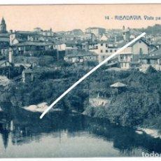 Postales: PRECIOSA POSTAL - RIBADAVIA (ORENSE) - VISTA PARCIAL - EDICION HERMENEGILDO RODRIGUEZ. Lote 224673013