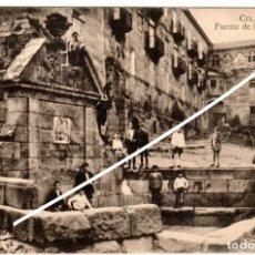 Postales: PRECIOSA POSTAL - CELANOVA (ORENSE) - FUENTE DE LAS TRIGUERIZAS. Lote 224681200
