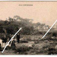 Postales: PRECIOSA POSTAL - ISLA CORTEGADA (ORENSE). Lote 224690893