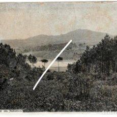 Postales: BONITA Y RARA POSTAL - CORTEGADA (ORENSE) - BOSQUE DEL NOROESTE - MARTINEZ. Fº. VILLAGARCIA. Lote 224691110