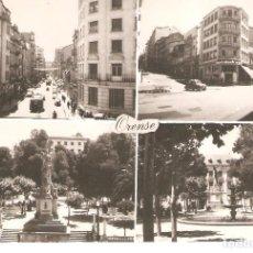 Postales: POSTAL ORENSE 4 VISTAS. GALICIA ED. PARÍS.. Lote 226249295