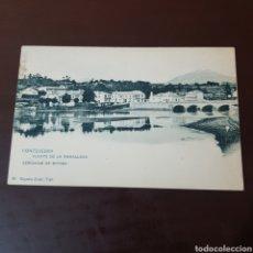 Cartes Postales: PONTEVEDRA - PUENTE DE LA RAMALLOSA CERCANIAS DE BAYONA - EUGENIO KRAFT 65 VIGO. Lote 227629440