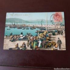 Cartes Postales: VIGO - PREPARANDO LA PESCA - PURGER & CO. Lote 227669906