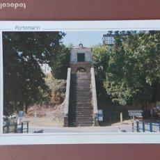 Postales: POSTAL 1454 EDICIONES PARÍS. ESCALINATA Y CAPILLA DE LAS NIEVES. PORTOMARÍN. LUGO. SIN CIRCULAR.. Lote 228630043