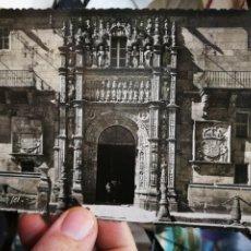 Cartes Postales: POSTAL SANTIAGO DE COMPOSTELA PUERTA DEL HOSPITAL REAL N 16 ROISIN S/C. Lote 228773467