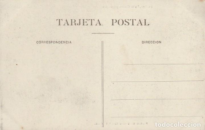 Postales: 1910 LA CORUÑA - CANTON Y OBELISCO - PAPELERIA LOMBARDERO - IMPECABLE - Foto 2 - 229839980