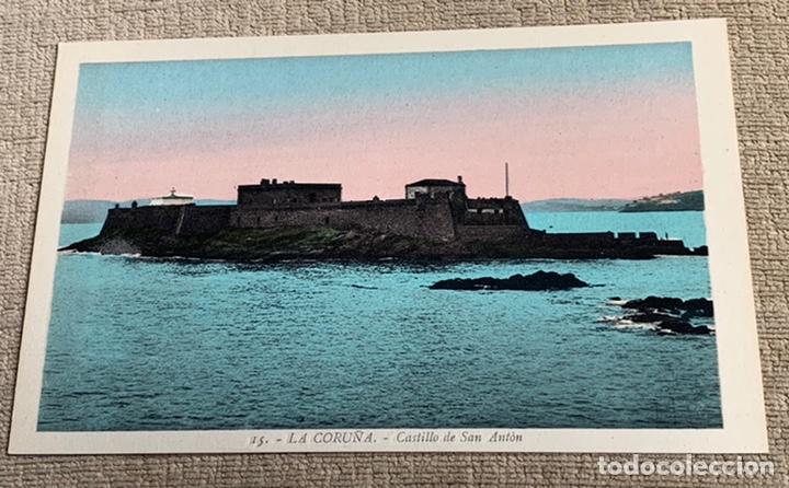 CASTILLO DE SAN ANTÓN .LA CORUÑA 15 (Postales - España - Galicia Antigua (hasta 1939))