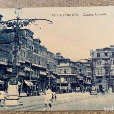 Postales: LA CORUÑA CANTÓN GRANDE. Lote 229847465